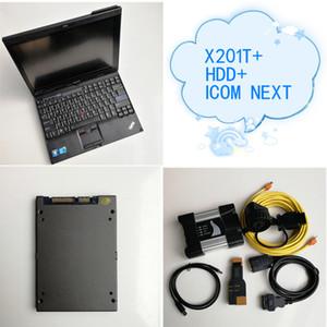 BMW icom dizüstü X201T Tablet ile yumuşak ürünleri V06 / 2020 720GB SSD ista ile icom a2 yeni nesil c b yanındaki