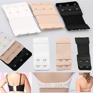 Elastic Soft Bra Extender da donna Extension in Nylon Stap 1 2 3 4 row 9pz / pacco da 10pacchi / lotto