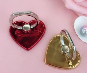 Agradável novo soquete inquietação criativa coração do amor dado forma Suporte para telefone celular Phone Ring Suporte Moblie fácil de segurar telefone