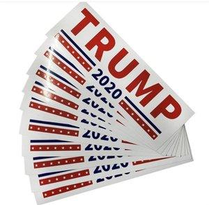 2020 미국 대통령 일반 선거 자동차 스티커 도널드 존 트럼프 자동차 추수 감사절 자동차 장식 크리 에이 티브 장식 4lvs gg