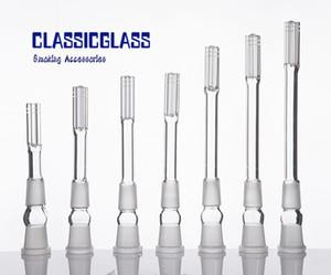Glass Downstem mit 6 Bewaffneten Connecto 18mm Frau Bis 18mm Männlichen Joint Hohe Borosilikatglas Matt Joint Dropdown 14F 18 Mt Glas Wasserleitung