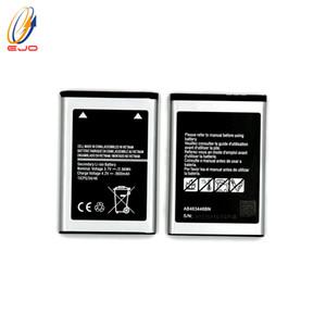 Bateria para samsung e208 telefone substituir bateria a alta capacidade para o x200 x208 e200 s259 ab463446nb ab463446bu alta capacidade de bateria