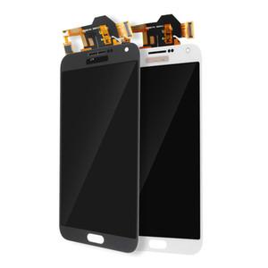 Samsung Galaxy için orijinal LCD Dokunmatik Ekran E7 E700 * Orijinal * beyaz siyah altın ücretsiz DHL