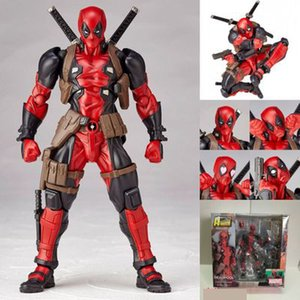 Marvel X-men figura de acción de Deadpool periférica 16 cm cara cambiada modelo personal muñeca decoración juguete regalo muñeca