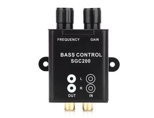 Universal Car Remote Amplifier Subwoofer Equalizer Crossover Bass Controller Nouveau