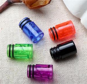 510 플라스틱 물감 팁 Ecig Colorful 510 나선형 물방울 팁 최고 품질의 전자 담배 공기 흐름 마우스 피 마우스 피스 내열성 낮은