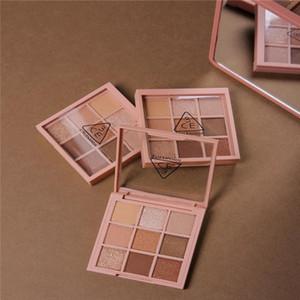 Nouveau En stock 3CE Eyeshadow Overtake 9colors palette de fard à paupières terre citrouille fard à paupières maquillage palette nue