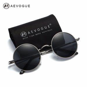 AEVOGUE Polarisierte Sonnenbrille für Männer / Frauen Kleine Runde Legierung Rahmen Sommer Stil Unisex Sonnenbrille UV400 AE0518