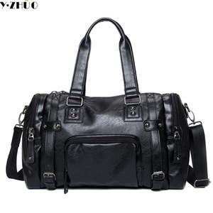 Men's Travel Bags luggage Waterproof suitcase duffel bag Large Capacity Bags casual High-capacity leather handbag