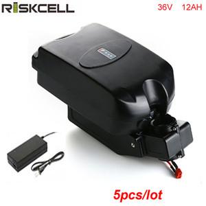 5 pz / lotto Batteria bici elettrica 36v 500w di alta qualità 36v 12ah batteria 250w bafang mid drive con caricatore gratuito