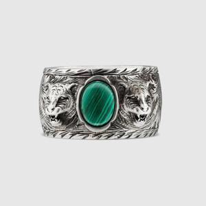 Argento sterling 925 di alta qualità degli uomini e delle donne Anello di marca giapponese-coreano di modo gli amanti d'argento uomini anello d'annata di vecchio stile britannico