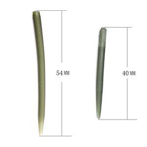 INFOF 100pcs accessori per la pesca alla carpa di pesca anti groviglio maniche collegare gancio per la pesca alla carpa 70% pesca duro carpa