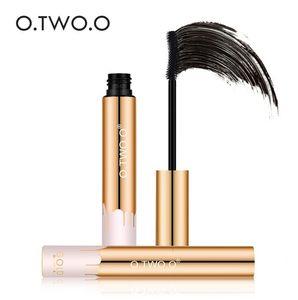 O.TWO.O 3D Mascara Allungamento Nero Lash Extension Ciglia Eye Lashes Spazzola Beauty Makeup Long-wearing Mascara Color Oro