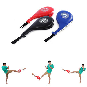Taekwondo Foot Target for Children under 15 PU leather Double Sides Drumstick Protector Thai Kick Pad Boxing Sport Traing Target