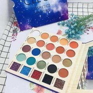 مكياج CLEOF Cosmetics Shadows 25 Colors Professional Eyeshadow Palette