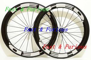 Toptan En Iyi Yol Bisiklet Tekerlekleri Yarış HED 38 MM U Şekli Tam Karbon Fiber Jantlar Kattığı / Tübüler Yol Bisikleti Çin Karbon Jantlar