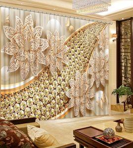 Tenda 3D gioielli di lusso per finestra 3D Photo Custom Window