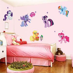 Sihirli Unicorn Duvar Çıkartmaları Ev Dekor Duvar Çıkartmaları çocuk Odası Için Dekoratif Sticker Hayvanlar Ev Dekorasyon ...