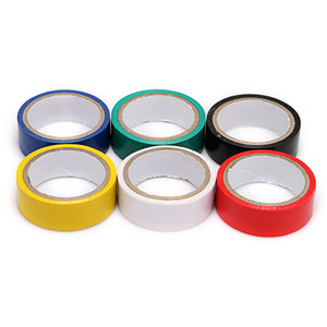 Wholesale Brand New 50 Roll Electrical Tape PVC Insulating Tape 17mm (W) x 300mm (L) - 6 Color choose