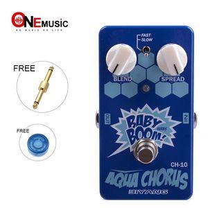 Biyang бас-гитары Педаль эффектов аква Chorus CH-10 Baby Boom серии