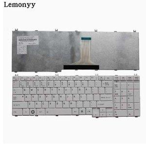 NOVA EUA teclado Para toshiba Satellite C655 C650 C655D C660 L650 L655 L670 L675 L750 L755 EUA branco laptop teclado