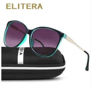 ELITERA stile della stella femminile degli occhiali da sole donne oversize Occhiali da sole vintage all'aperto Sunglass Oculos de sol 3006