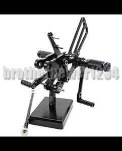 Задние подножки с ЧПУ Полностью регулируемые задние ножки для HONDA CBR400RR NC29 93-99 CBR900RR 893cc SC28 92-95 CBR919RR SC33 96-99