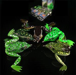 Мягкие силиконовые камуфляж Живая мишень Рэй лягушка приманки 5см 11г плавающ Snakehend Топуотер приманки ложных