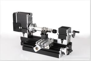 TZ20002MGP 60W Electroplated Metal Heighten Mini Lathe 60W,12000rpm electroplating didactical lathe