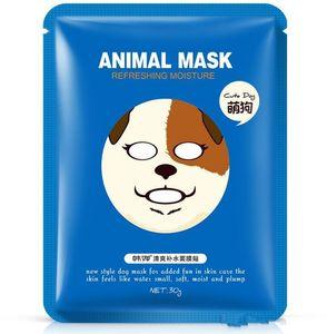 2018 hotsale maske BIOAQUA Tiger Panda Schäferhundform Tiergesichtsmaske Feuchtigkeitsspendende Ölkontrolle Feuchtigkeitsspendende pflegende Gesichtsmasken