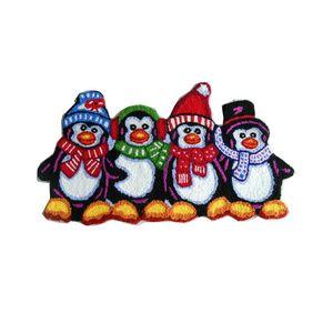 Christmas cute cartoon penguin crochet hook carpet children kids gift living door mat embroidered porch doormat karpet rug floor mats