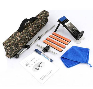 Новое обновление профессиональный кухонный нож точилка система 4 шт шлифовальные камни с розничная сумка камуфляж