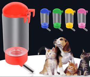 500 мл Фидер бутылка для маленькой кошки собаки кролика хомячка расширенный тип домашних животных автоматические фонтаны питьевой воды случайный цвет
