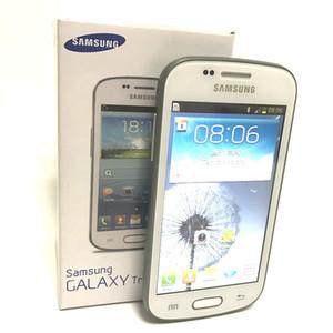 حار بيع سامسونج غالاكسي تريند duos الثاني S7572 S7562I 3 جرام الهاتف الذكي 4.0 بوصة شاشة الروبوت 4.1 ثنائي النواة مفتوح
