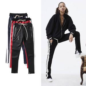 Men Women Justin Biebe Long Pants FOG Pants biker Loose Trousers Hip Hop Full Length Casual Pant IACB Store
