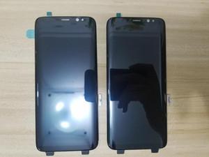 S8 LCD G950 Telefon Bölüm Süper Amoled LCD Ekran Ile Samsung S8 Artı G955 Için Dokunmatik Ekran Digitizer Meclisi