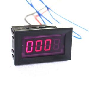 Misuratore di velocità del tachimetro del tachimetro del LED Digital del motociclo dell'automobile rossa