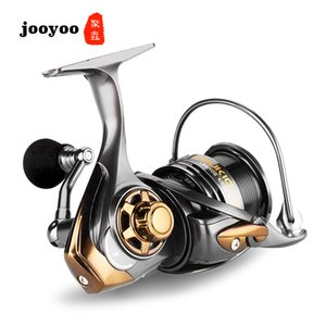 Metal Spool Spinning 2000 3000 5000 Series 7.1:1 Fishing Reel 5+1BB Wheel Gear Ratio Knob Handle Right Left Hand Changeable