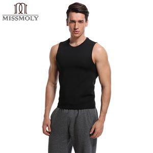 Miss Moly Emagrecimento Body Shaperwear Sauna Suor Neoprene Push Up Vest Trainer Cintura Cincher Shapewear