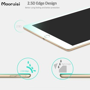 iPad 9.7을 위해 새로운 2017 공기 1 2 직업적인 9.7 인치 고품질 9H 강화 유리 스크린 보호자 보호 감시 필름