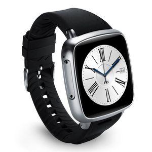 1 pc gratuit DHL Z01 Smartwatch Android Wifi Métal 8G ROM 1G RAM Smartwatch Wifi Android Caméra 5MP Fréquence Cardiaque Podomètre GPS Reloj Bluetooth