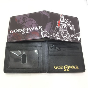 FVIP Nueva llegada Juego God of War Monedero Kratos Design Short Purse Monederos