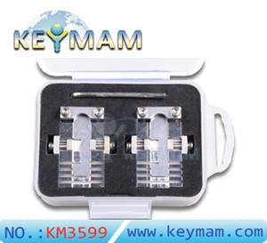 Profesional de múltiples funciones de bloqueo de coche casa llave de la llave de la máquina de corte de la llave hacer nueva astilla de acero inoxidable cerrajería suministros