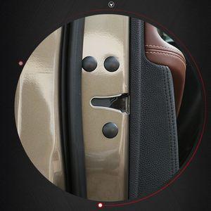 Evrensel 12 adet ABS Araba Styling Araba Kapı Kilidi Vida Koruyucu Kapak BMW Audi Ford Honda Için Su Geçirmez Kapı Vida Çıkartmalar KIA Toyota
