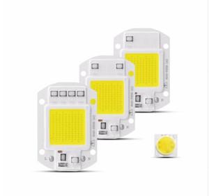 Chip de lámpara LED COB de alta potencia 220V IC inteligente Sin controlador cob Led Diode Light Beads Bombilla LED Foco de luz de inundación 20W 30W