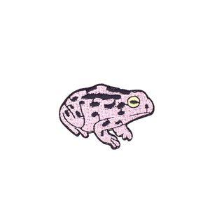 DIY 10pcs Frog banda Cucire ricamato zone del fumetto per Patch Coat per banda cucire Hot Melt vestiti animali Accessori patch