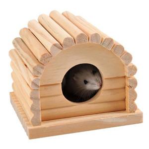 Mignon petit animal Pet Lapin Hamster Maison Lit Rat Écureuil Cochon d'Inde Hiver Chaud Suspendu Maison Cage Nid Hamster Accessoire