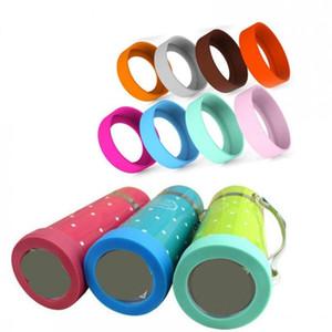 Sottobicchiere isolante in silicone per thermos sottovuoto vasetto per alimenti antiscivolo pad porta bottiglie antigraffio maniche 60-75mm