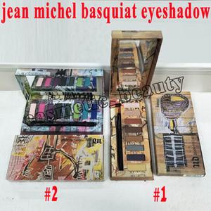 Nuevas herramientas de maquillaje de ojos 8 color X JEAN MICHEL BASQUIAT TENANT EYESHADOW PALETTE Tenant / Gold Griot Nude Somky Paleta de sombras
