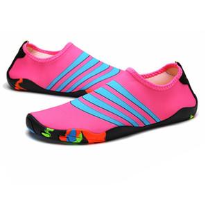 عشاق الشاطئ في الصيف في الهواء الطلق حذاء امرأة الرجال الأحذية الرحلات Senderismo المنبع المشي المياه الوالدين والطفل للجنسين حذاء رياضة